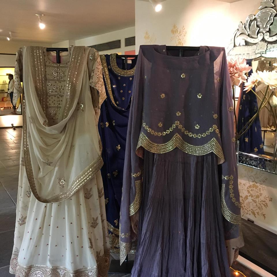 bridal wear outfits at elan multidesigner store ahmedabad