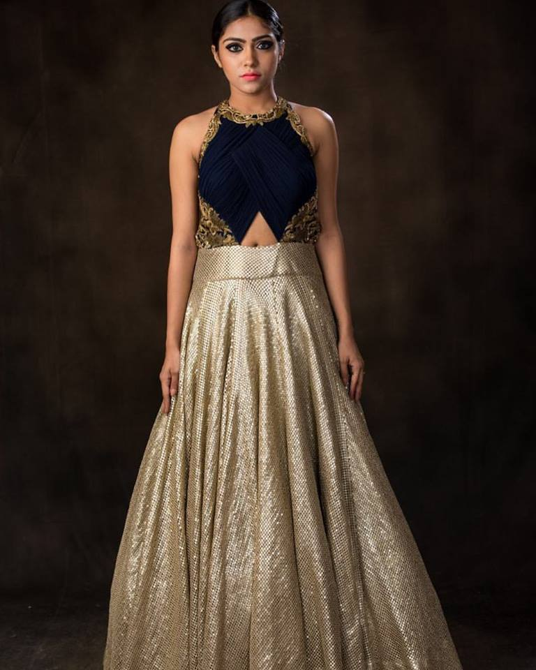 party gown designed by fashion designer anuraag