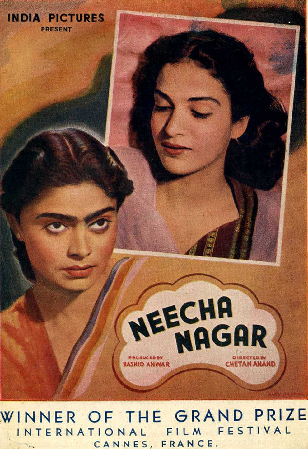 Award Winning Films/Movies, Neecha Nagar, 1946, first Cannes film festival, history of Cannes, Film or fashion