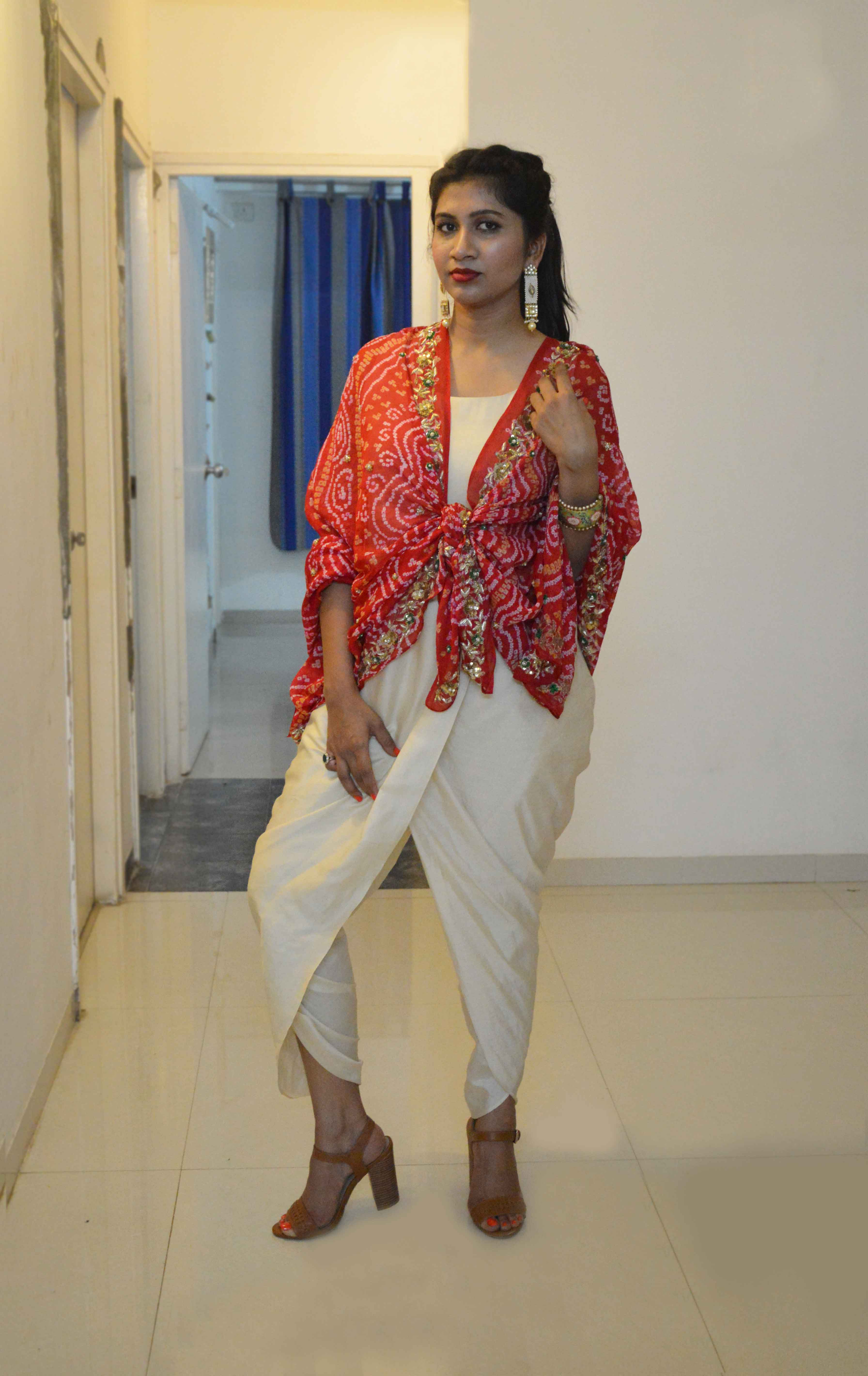 Ciceroni, fashion, lifestyle, shopping in Ahmedabad, your local shopping guide, Diwali look, festive fashion, jumpsuit