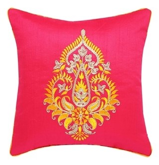 IVY, Square Embroidered Cushion Cover, INR 249