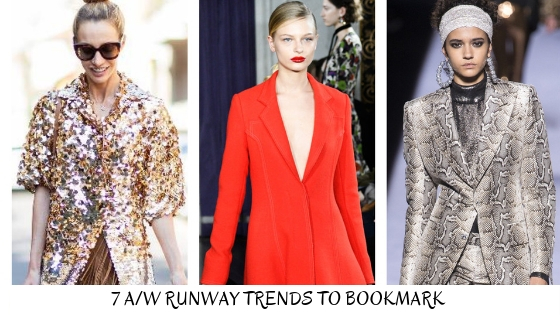 7 A/W Runway Trends to Bookmark