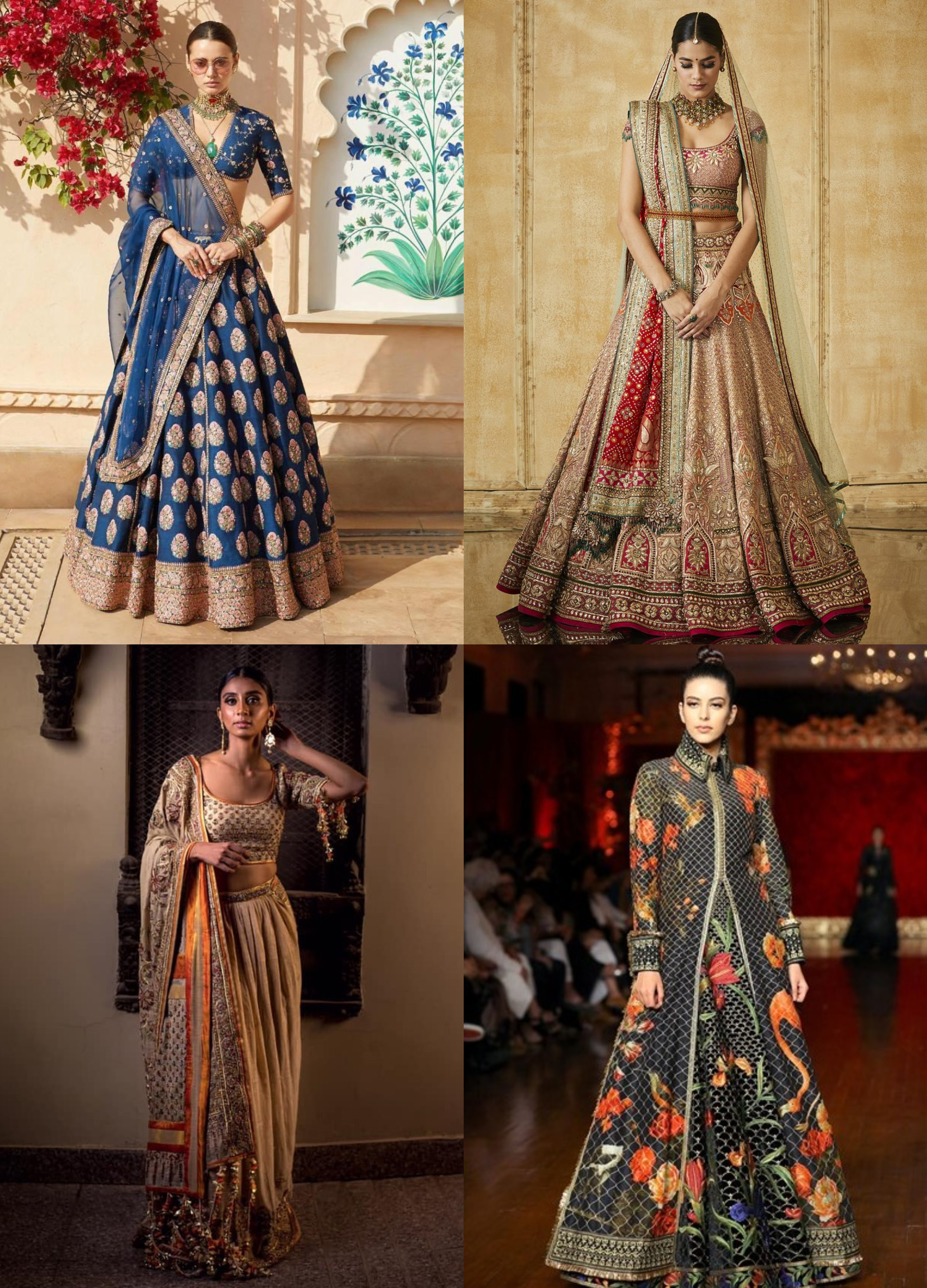 Less Is More Or More Is More Indian Bridal Fashion 2019