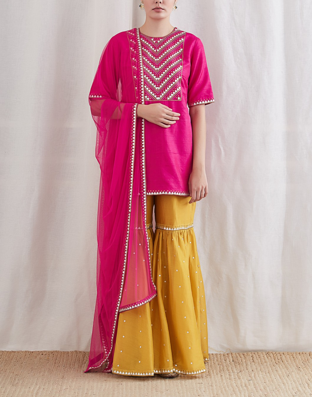 Ciceroni,  your local shopping guide, sharara, eid fashion, eid 2019, indian ethnic fashion, sharara trends 2019, top fashion portal in gujarat
