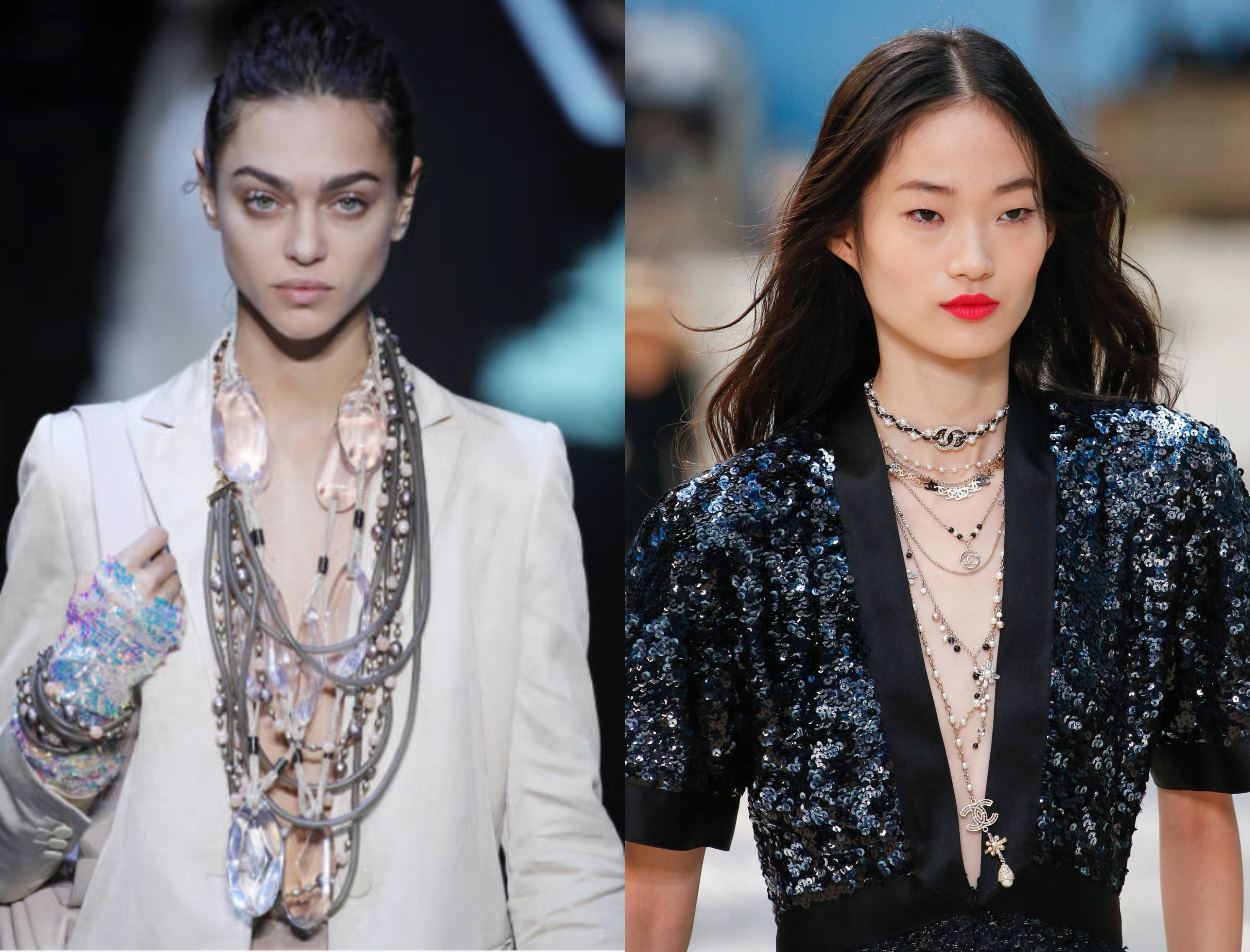 Jewellery trends-spring summer fashion week 2019-NewYork Fashion Week 2019-Milan Fashion Week 2019- Paris Fashion Week 2019- Jewellery Shopping – Accessories- Pipa Bella- Maithili Kabre- Tijori – Amrapalli- Sea Shells – Heart Shaped Jewellery- Crystal – Chandeliers – Hoops- Met Jewellery – Earrings – Necklace – Beads – Glasswork - Oscar De La Renta –Versace-Salvatore Ferragamo-Chanel-Marc Jacobs- Fendi-Loewe-Chanel-Balenciaga- Altuzarra- Anna Sui-Alyssa Coscarelli-jewellery- Ahmedabad- Shopping-Kitsch by Nik-Aditi Bhatt Accessories-Anviksha-Chaakmaati-Hyperbole Accessories-June-De'anma