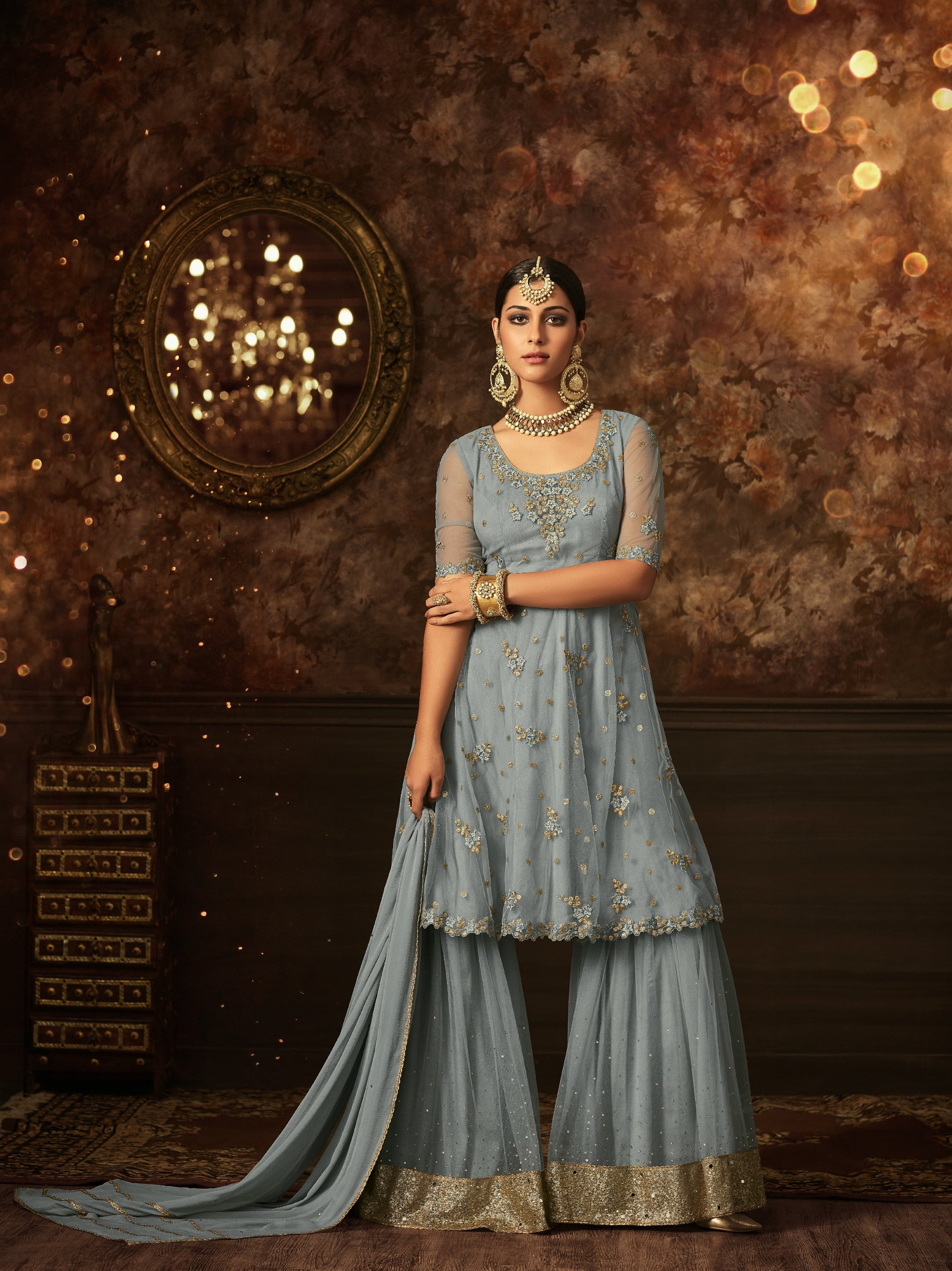 Sharara or Gharara – Your pick for Eid party