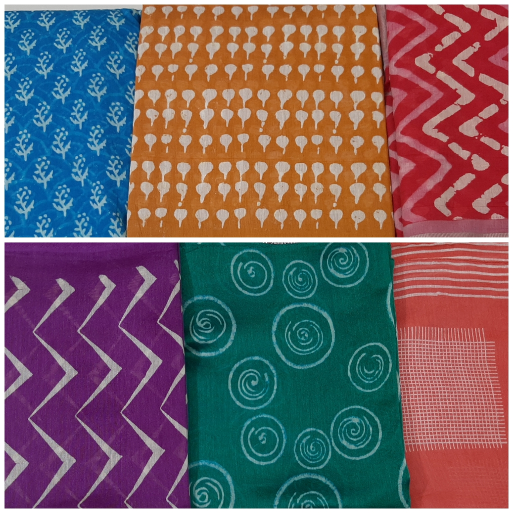 cotton saree, printed sarees, earthy tones, handwoven sarees, cottons, ethnic prints, Sejal Handicrafts, Vadodara, Baroda shopping,