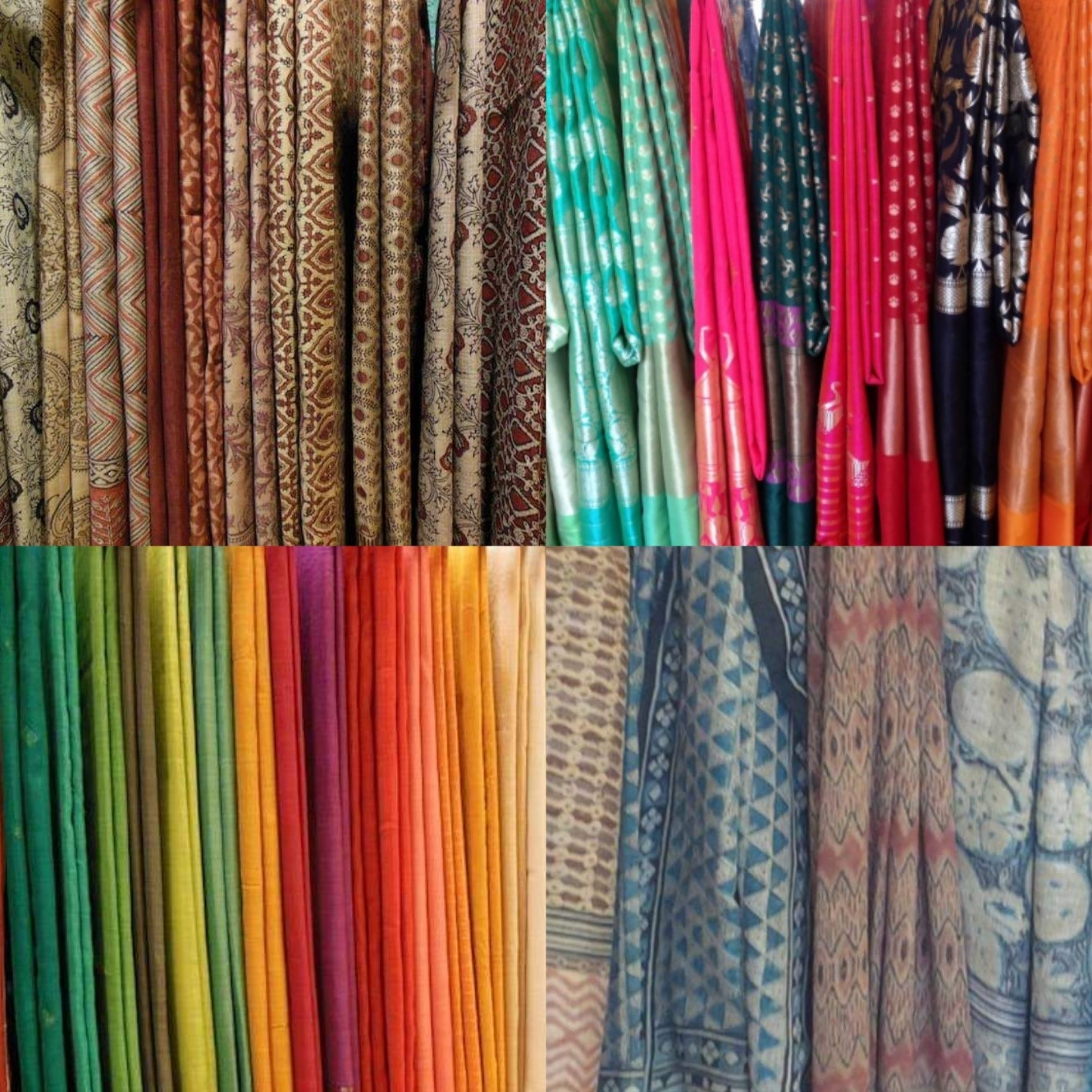 cotton silks, festive fashion, sarees, fabrics, printed sarees, ajrakh prints