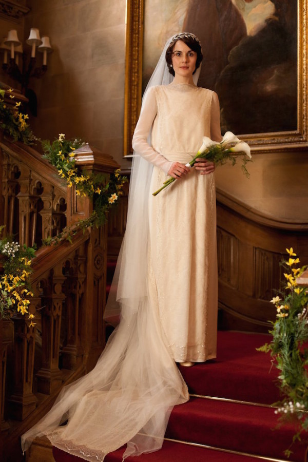 lady mary wedding gown