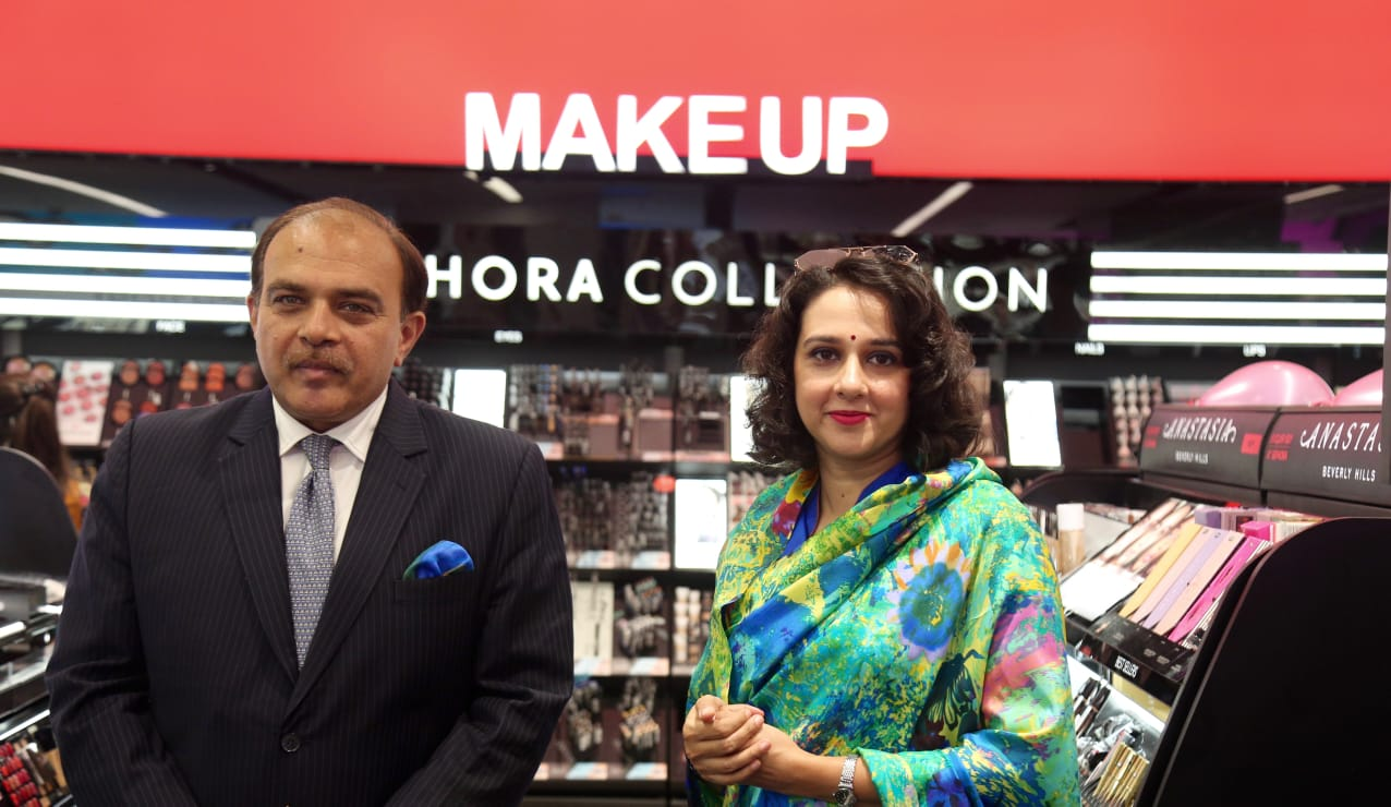Sephora, Sephora India, Ahmedabad, Ciceroni, Vivek Bali, Kulin Lalbhai, Arvind Limited, Ahmedabad one Mall, Make up in India, Makeup in Ahmedabad, Perfumes in Ahmedabad, Your local shopping guide, Falguni Patel