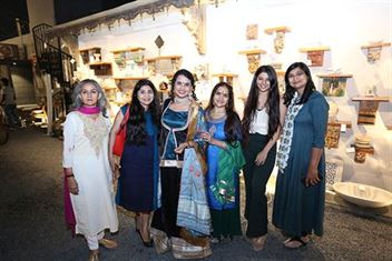 Invitees at WOmen's day event at Boho Homes