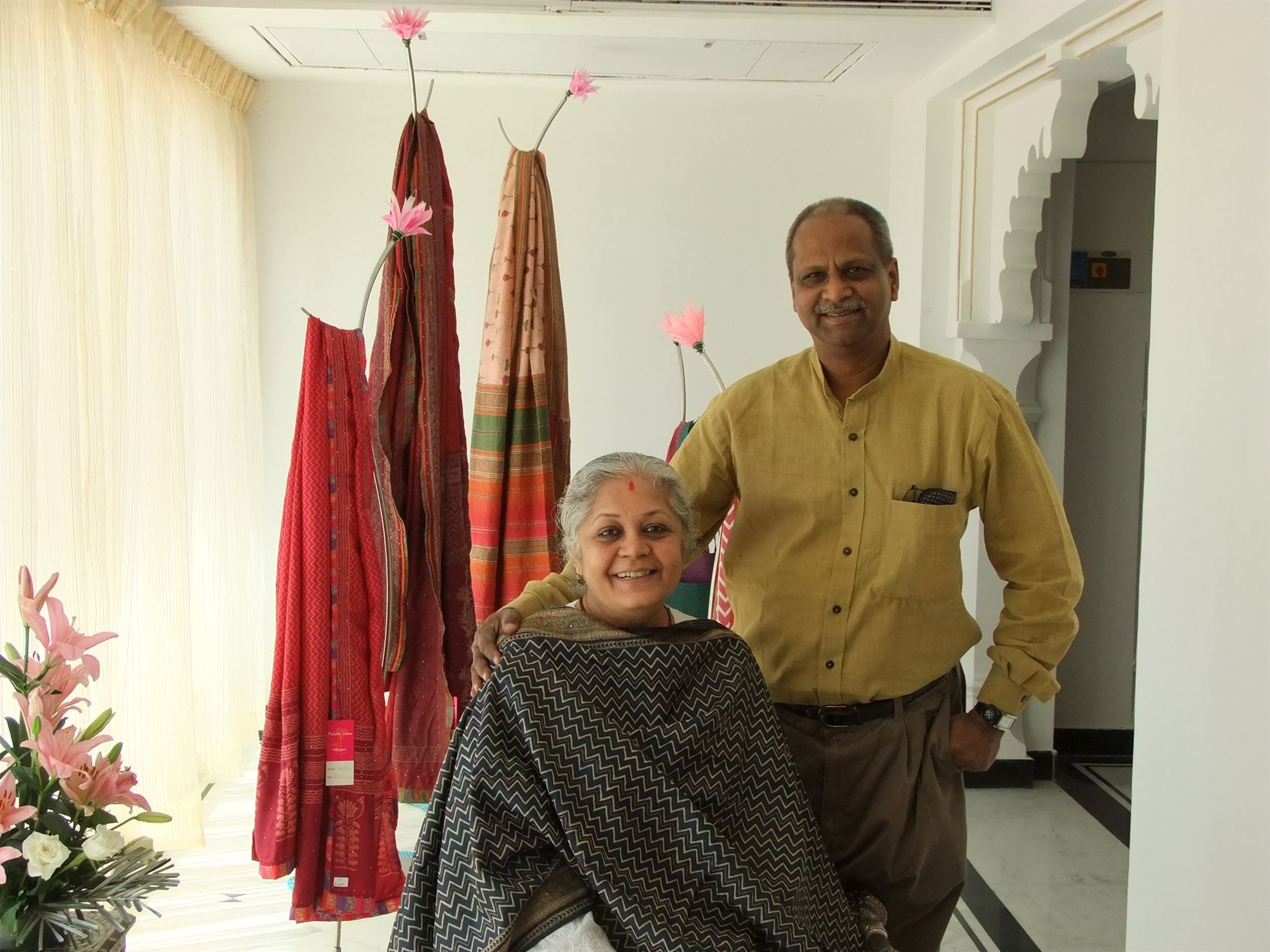 Mala Sinha and Pradeep Sinha - Founders of Bodhi that works on truly sustainable business model in Vadodara