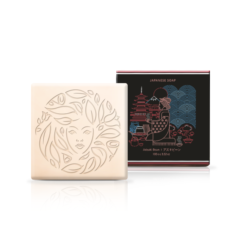 Japanese Adzuki Bean Soap by Global Beauty Secrets