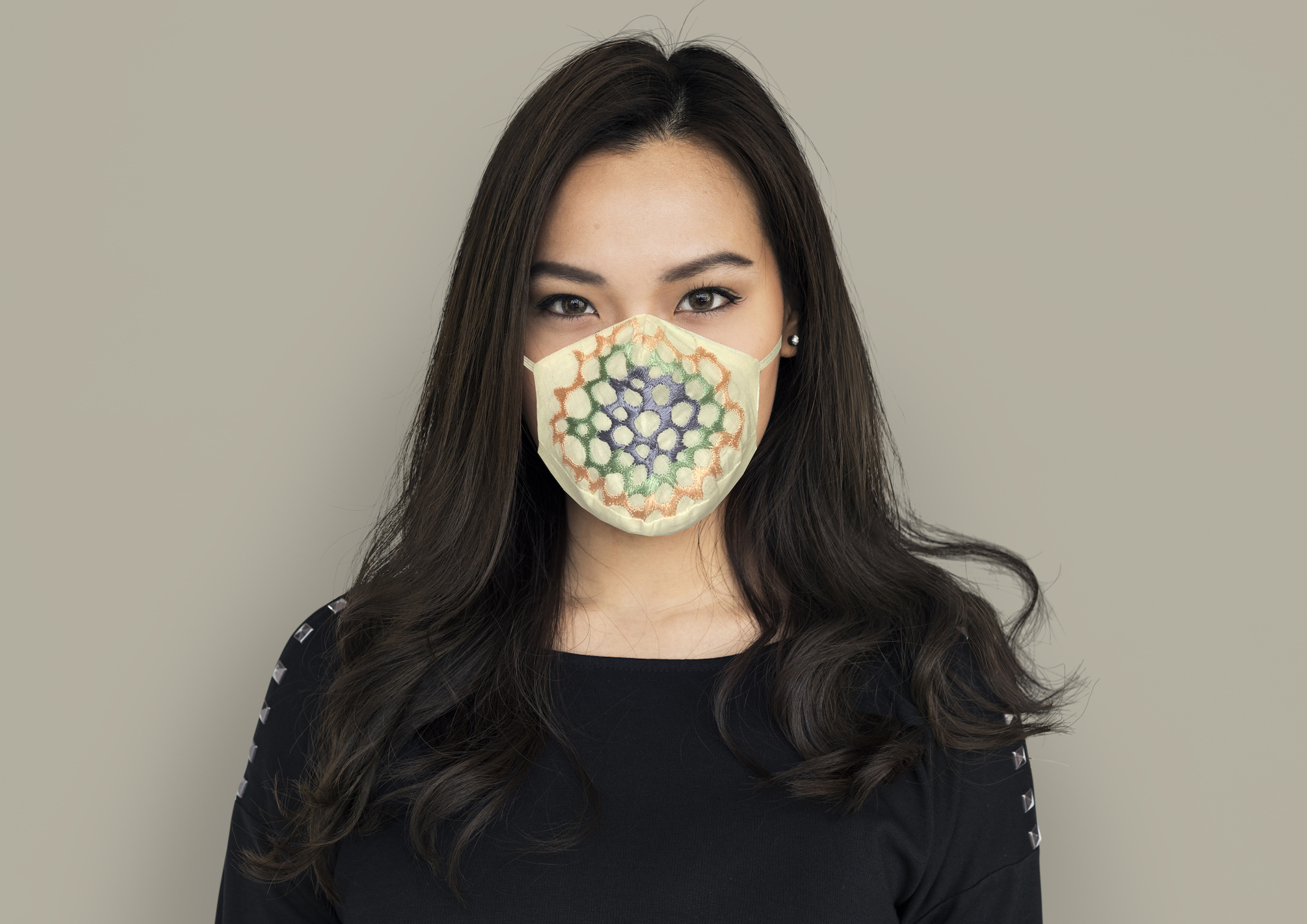 Biodegradable mask by Anurav