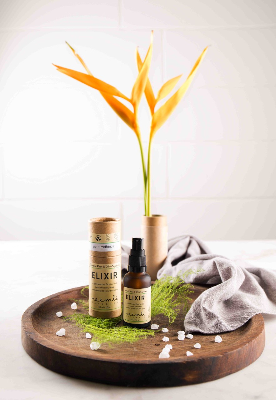 Turmeric Root & Olive Squalane Elixir by Neemli Naturals
