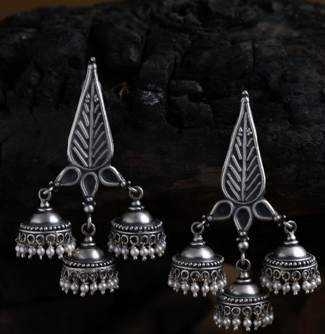 Ciceroni – silver jewellery brands in India – Silver jewellery – Lai – Aadyaa – Flying Fish - Maharani Baug - Firdaus by Akshita – 5 silver jewellery brands in India to bookmark in India – festive jewellery – festive and wedding jewellery