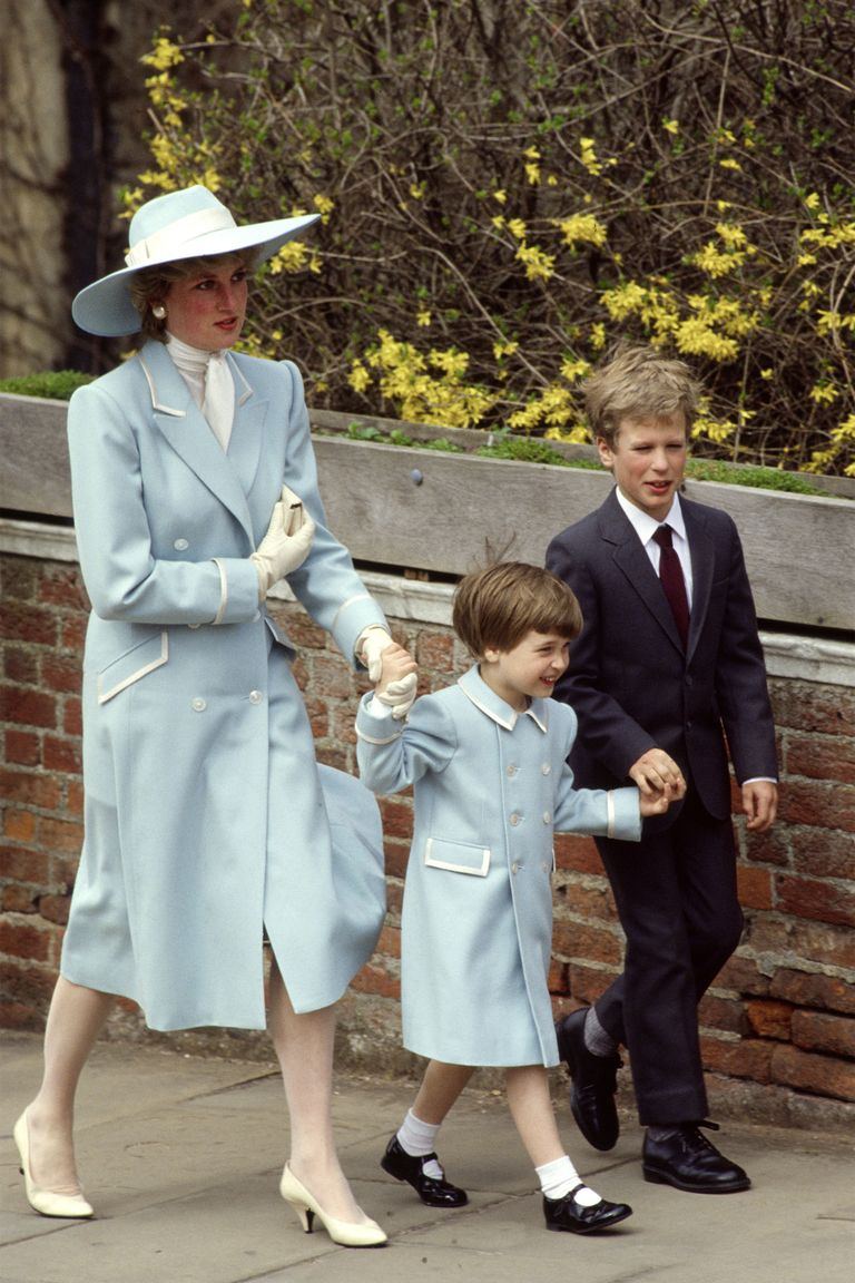 Lady Diana in Pastel Blue