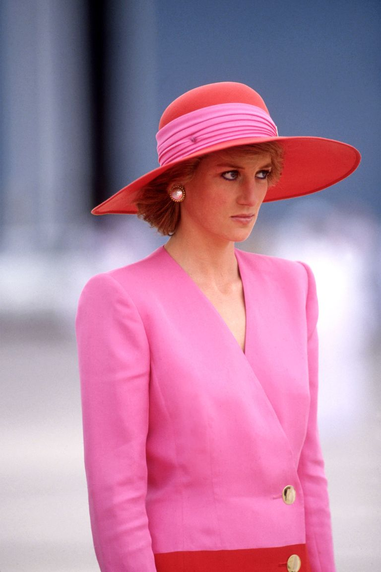 Lady Diana in Pink