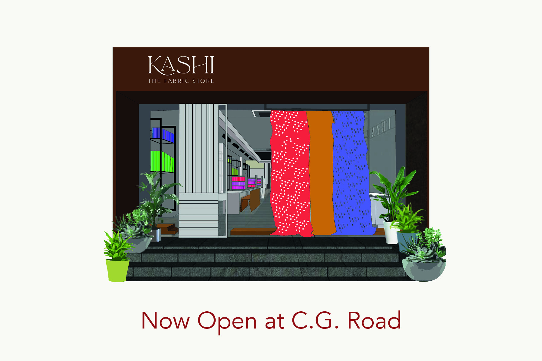 Kashi- The Fabric Store launches its first standalone store in Ahmedabad
