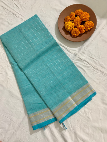 Cotton Zari Saree