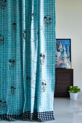 Door/French Window Curtains