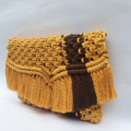 yellow and brown bag for women