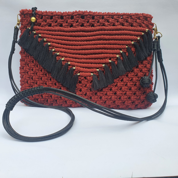 red and black bag For Women